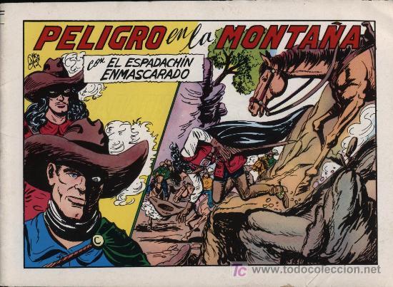 ESPADACHÍN ENMASCARADO. 1981. Nº 60 (Tebeos y Comics - Valenciana - Espadachín Enmascarado)