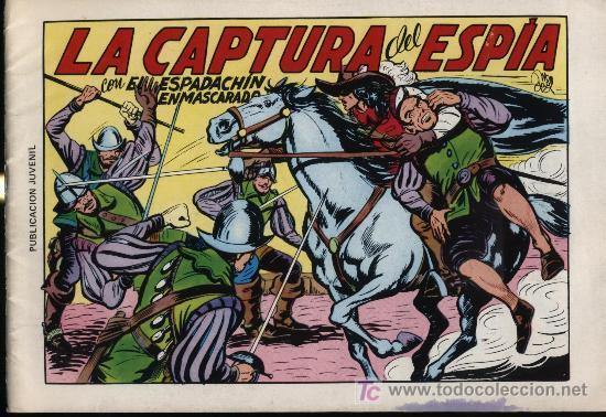 EL ESPADACHÍN ENMASCARADO 2ª. 1981. 3 EN 1 Nº 11 (Tebeos y Comics - Valenciana - Espadachín Enmascarado)
