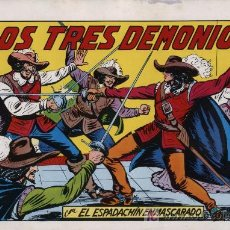 Tebeos: EL ESPADACHÍN ENMASCARADO 2ª. 1981. 3 EN 1 Nº 24. Lote 11361259