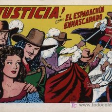 Tebeos: EL ESPADACHÍN ENMASCARADO 2ª. 1981. 3 EN 1 Nº 2. Lote 11361357