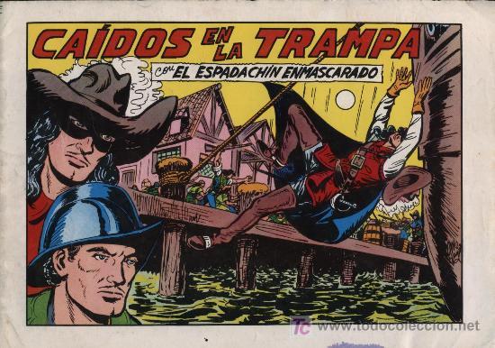 EL ESPADACHÍN ENMASCARADO 2ª. 1981. 3 EN 1 Nº 54 (Tebeos y Comics - Valenciana - Espadachín Enmascarado)