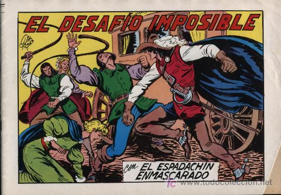 EL ESPADACHÍN ENMASCARADO 2ª. 1981. 3 EN 1, Nº 59 (Tebeos y Comics - Valenciana - Espadachín Enmascarado)
