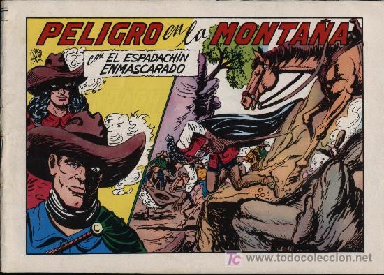 EL ESPADACHÍN ENMASCARADO 2ª.VALENCIANA 1981. 3 EN 1. Nº 60 (Tebeos y Comics - Valenciana - Espadachín Enmascarado)