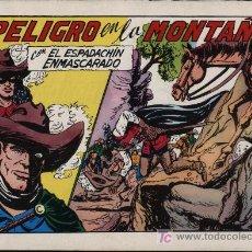 Tebeos: EL ESPADACHÍN ENMASCARADO 2ª.VALENCIANA 1981. 3 EN 1. Nº 60. Lote 11365774