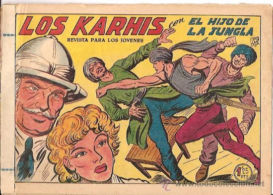 EL HIJO DE LA JUNGLA Nº 14 ORIGINAL EDITORIAL VALENCIANA (Tebeos y Comics - Valenciana - Hijo de la Jungla)