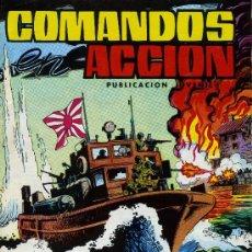 Tebeos: COMANDOS EN ACCIÓN - Nº 4 - EDITORIAL VALENCIANA 1980. Lote 11549220