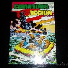Tebeos: COMANDOS EN ACCION. ALBUM RETAPADO Nº 4. EDITORIAL VALENCIANA. Lote 11646995