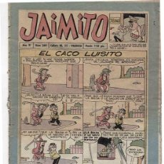 Tebeos: TEBEO JAIMITO Nº 344. EDITORIAL VALENCIANA. Lote 11657985