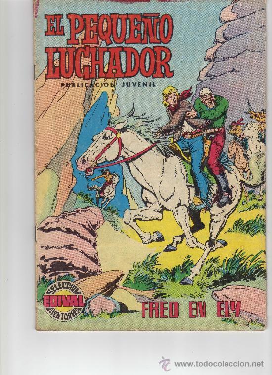 EL PEQUEÑO LUCHADOR N. 33 VALENCIANA AÑOS 70 (Tebeos y Comics - Valenciana - Pequeño Luchador)