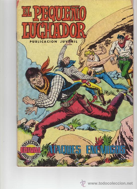 EL PEQUEÑO LUCHADOR N. 34 VALENCIANA AÑOS 70 (Tebeos y Comics - Valenciana - Pequeño Luchador)