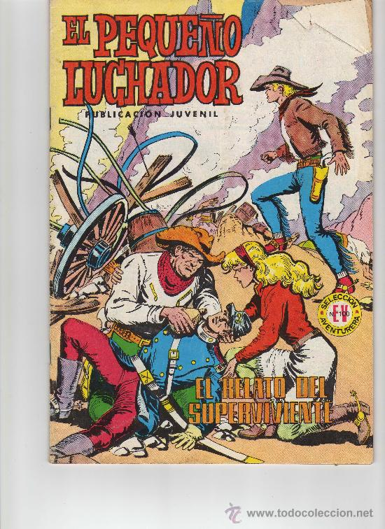 EL PEQUEÑO LUCHADOR N. 76 VALENCIANA AÑOS 70 (Tebeos y Comics - Valenciana - Pequeño Luchador)