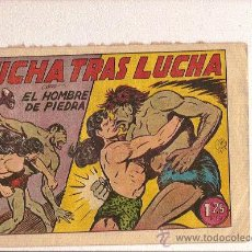 Tebeos: EL HOMBRE DE PIEDRA Nº 56 DE VALENCIANA. Lote 22124326