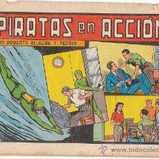 Tebeos: ROBERTO ALCAZAR Y PEDRIN: PIRATAS EN ACCIÓN Nº 154, EDITORIAL VALENCIANA 1984. Lote 25306041