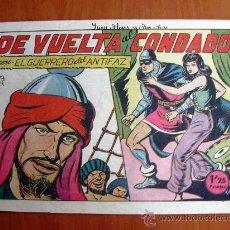 Tebeos: EL GUERRERO DEL ANTIFAZ, Nº 132. Lote 12601376