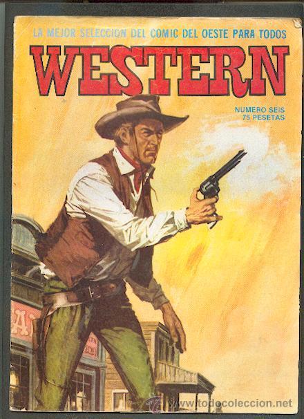 WESTERN Nº 6,ED.VALENCIANA (Tebeos y Comics - Valenciana - Otros)