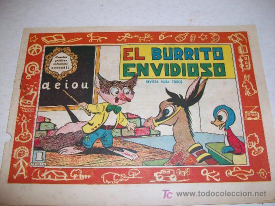EDITORIAL VALENCIANA: CUENTOS INFANTILES CASCABEL (ORIGINAL), Nº 84 (Tebeos y Comics - Valenciana - Otros)