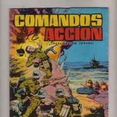 Tebeos: COMANDOS EN ACCION DE EDITORA VALENCIANA-Nº 3,DOS HISTORIAS A TODO COLOR. Lote 23632243