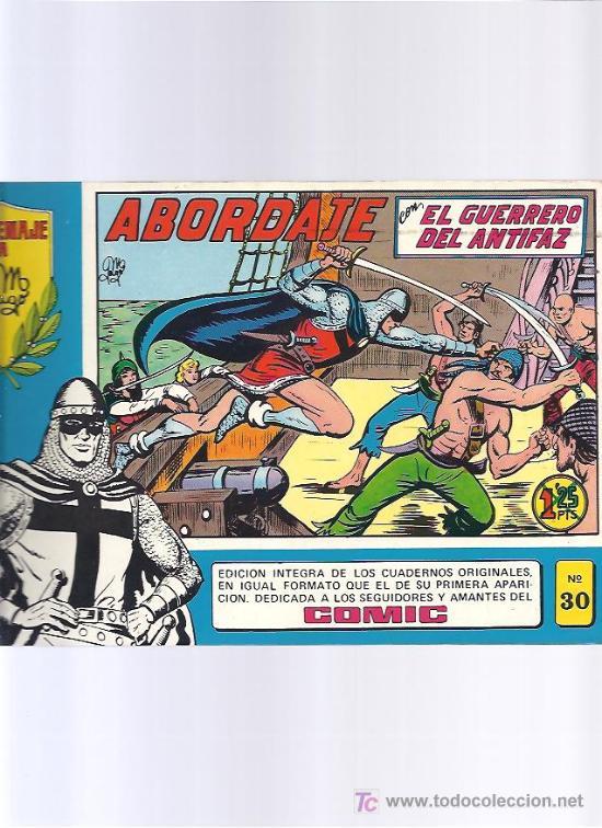 GUERRERO DEL ANTIFAZ 30 (Tebeos y Comics - Valenciana - Guerrero del Antifaz)