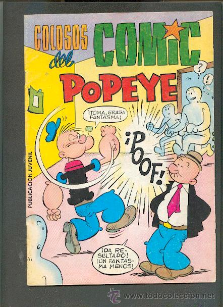 COLOSOS DEL COMIC,POPEYE Nº 10,ED.VALENCIANA (Tebeos y Comics - Valenciana - Colosos del Comic)