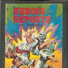 Tebeos: HEROES DEL DEPORTE Nº5,ED.VALENCIANA. Lote 24698569