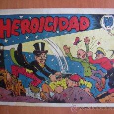 Tebeos: EL PROFESOR CARAMBOLA 1º EDICIÓN - ED. VALENCIANA 1945 - Nº 16-HEROICIDAD. Lote 17596678