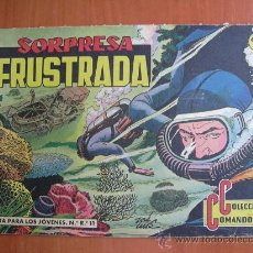 Tebeos: COLECCIÓN COMANDOS Nº 11 - EDITORIAL VALENCIANA 1954. Lote 12999316
