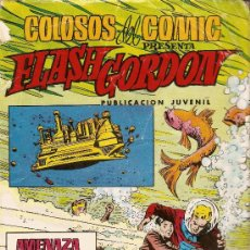 Tebeos: COLOSOS DEL COMIC Nº 162 - EDITORIAL VALENCIANA - FLASH GORDON - Nº 30 - AMENAZA ATÓMICA - 1980. Lote 13086440