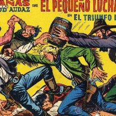 Tebeos: EL PEQUEÑO LUCHADOR Nº236. DIBUJOS DE MANUEL GAGO (ORIGINAL). Lote 26647537