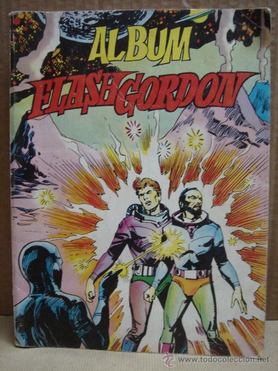 ALBUM FLASH GORDON Nº 2 EDITORIAL VALENCIANA 1980 -DOS 2 (Tebeos y Comics - Valenciana - Otros)
