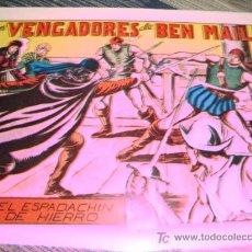 Tebeos: LOS VENGADORES DE BEN MAIL. CON EL ESPADACHIN DE HIERRO 1,25 PTAS.. Lote 13428530