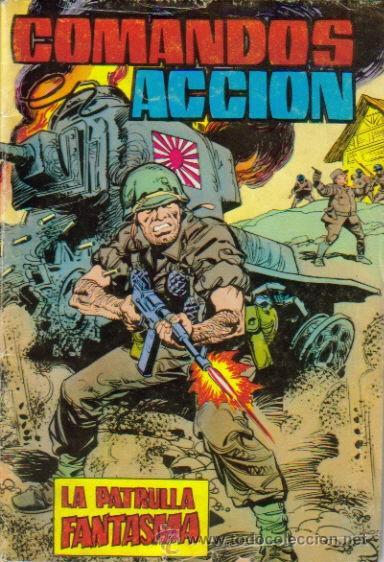 COMANDOS ACCION-NOVELA GRÁFICA. (VALENCIANA) ORIGINAL 1979 Nº.1 (Tebeos y Comics - Valenciana - Otros)