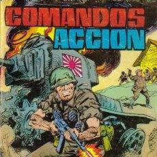 Tebeos: COMANDOS ACCION-NOVELA GRÁFICA. (VALENCIANA) ORIGINAL 1979 Nº.1. Lote 26658962
