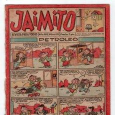 Tebeos: JAIMITO REVISTA PARA TODOS.Nº 452. AÑO XIII. 7 JUNIO 1958. EDITORIAL VALENCIANA. . Lote 13707095