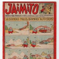 Tebeos: JAIMITO REVISTA PARA TODOS.Nº 455. AÑO XIII. 28 JUNIO 1958. EDITORIAL VALENCIANA. . Lote 13707164