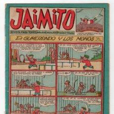 Tebeos: JAIMITO REVISTA PARA TODOS.Nº 439. AÑO XIII. 8 MARZO 1958. EDITORIAL VALENCIANA. . Lote 120700711