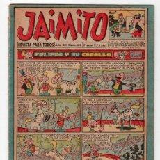 Tebeos: JAIMITO REVISTA PARA TODOS.Nº 419. AÑO XII. 19 OCTUBRE 1957. EDITORIAL VALENCIANA. . Lote 13707278