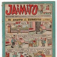 Tebeos: JAIMITO REVISTA PARA TODOS.Nº 476. AÑO XIII. 22 NOVIEMBRE 1958. EDITORIAL VALENCIANA. . Lote 13707884