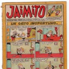 Tebeos: JAIMITO REVISTA PARA TODOS.Nº 470. AÑO XIII. 11 OCTUBRE 1958. EDITORIAL VALENCIANA. . Lote 13707921