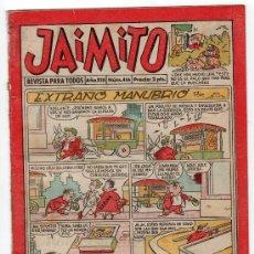 Tebeos: JAIMITO REVISTA PARA TODOS.Nº 466. AÑO XIII. 1958. EDITORIAL VALENCIANA. . Lote 13707958