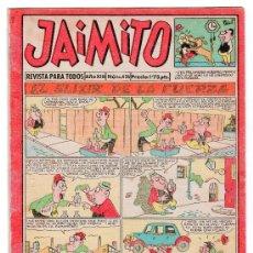 Tebeos: JAIMITO REVISTA PARA TODOS. Nº 436. AÑO XIII. PROCEDE DE ENCUADERNACION. EDITORIAL VALENCIANA. Lote 13724013