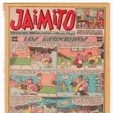 Tebeos: JAIMITO REVISTA PARA TODOS. Nº 440. AÑO XIII. PROCEDE DE ENCUADERNACION. EDITORIAL VALENCIANA. Lote 13724021