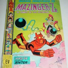 Tebeos: COMIC NUEVAS AVENTURAS DE MAZINGER Z - EL ROBOT DE LAS ESTRELLAS, Nº 1 - EDITORA VALENCIANA 1978 - T. Lote 13932136