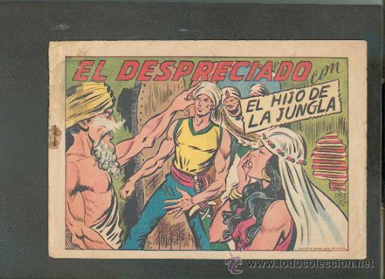 EL HIJO DE LA JUNGLA Nº27,ED.VALENCIANA (Tebeos y Comics - Valenciana - Hijo de la Jungla)