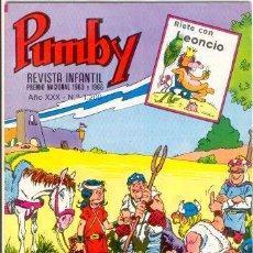 Tebeos: PUMBY Nº1200,ED.VALENCIANA. Lote 25013347