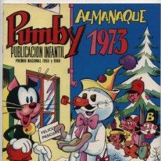 Tebeos: PUMBY ALMANAQUE 1973. Lote 23863074