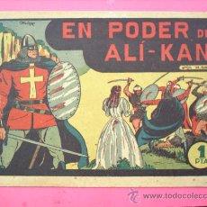 Tebeos: EL GUERRERO DEL ANTIFAZ N.2 - ORIGINAL EN PODER DE ALI-KAN ,M. GAGO ,-VALENCIANA. Lote 27253016