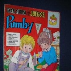 Tebeos: PUMBY. GRAN ALBUM DE JUEGOS Nº 28 - EDIVAL 1982. Lote 14919740