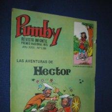 Tebeos: PUMBY Nº 1185 - EDIVAL 1983. Lote 14919945