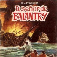 Tebeos: CLASICOS ILUSTRADOS Nº 5 EL SEÑOR DE BALANTRY EDITORIAL VALENCIANA. Lote 14997550