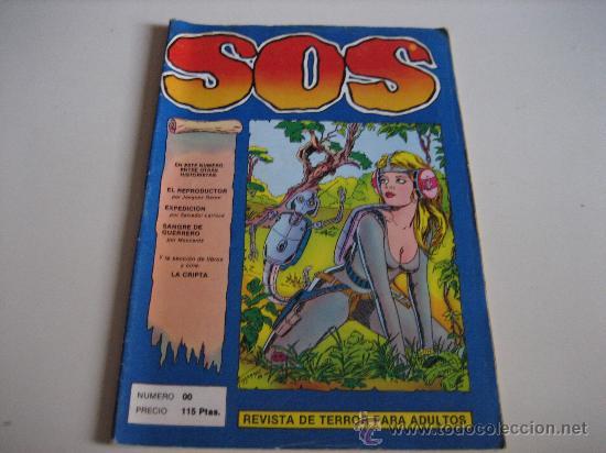 SOS - EPOCA II - Nº00 - REVISTA DE TERROR PARA ADULTOS (Tebeos y Comics - Valenciana - S.O.S)